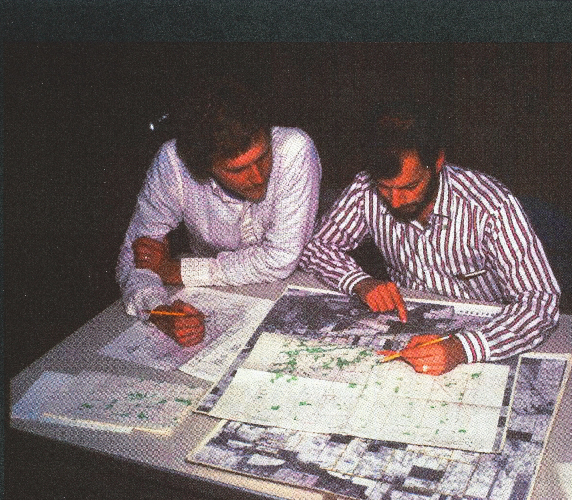 Ken Klick John Bacone geo map